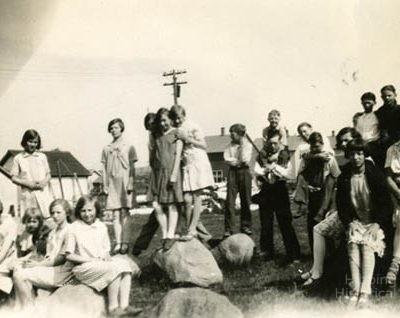 Carson Lake Grade School, 1928