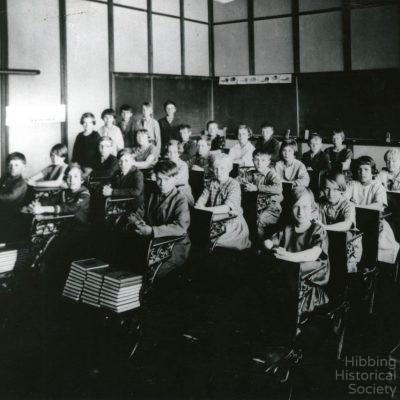 Carson Lake School, interior