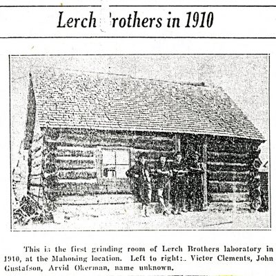 Lerch Brothers Laboratory in 1910