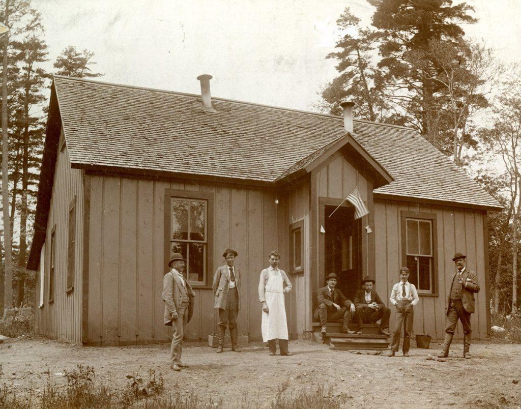 Mahoning Mine Office, 1892