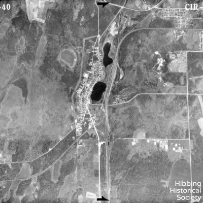 Aerial Map, Leetonia 1940
