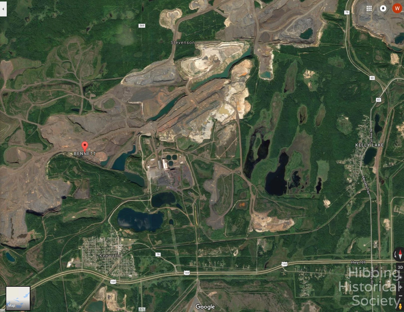 Bennett Location Image