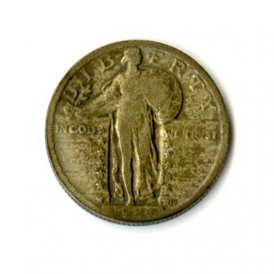 1934 – 25 Cent Piece (Side A)