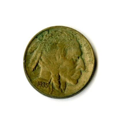 1935 – 5 Cent Piece (Side A)
