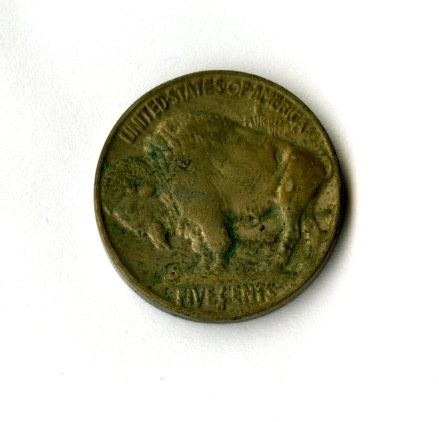 1935 – 5 Cent Piece (Side B)