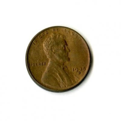 1935 – 1 Cent Piece (Side A)