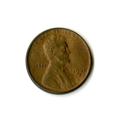 1935 – 1 Cent Piece (Side A)