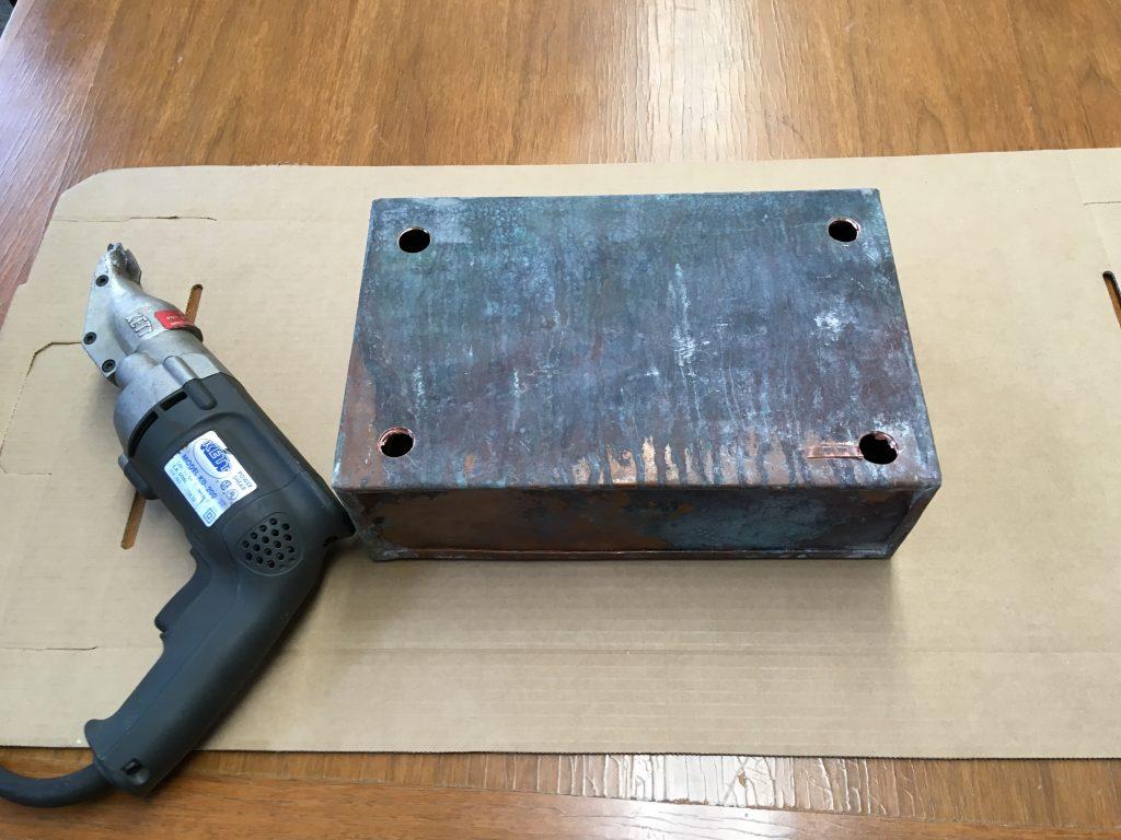 Cornerstone Copper Box