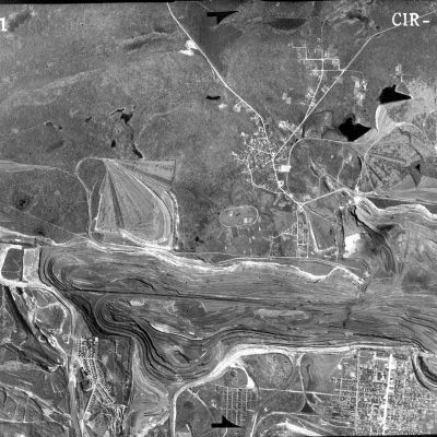 Poole Aerial Map, 1941