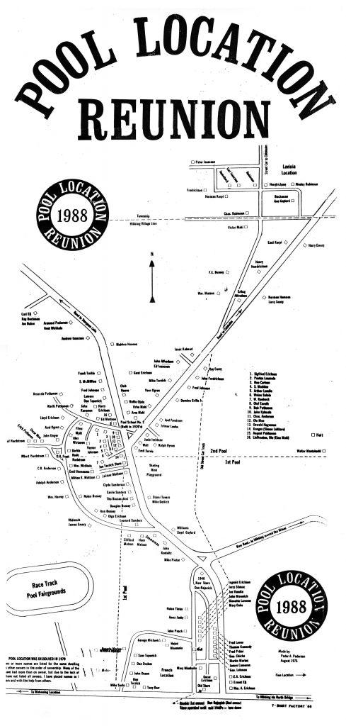 Poole Map – drawn 1976