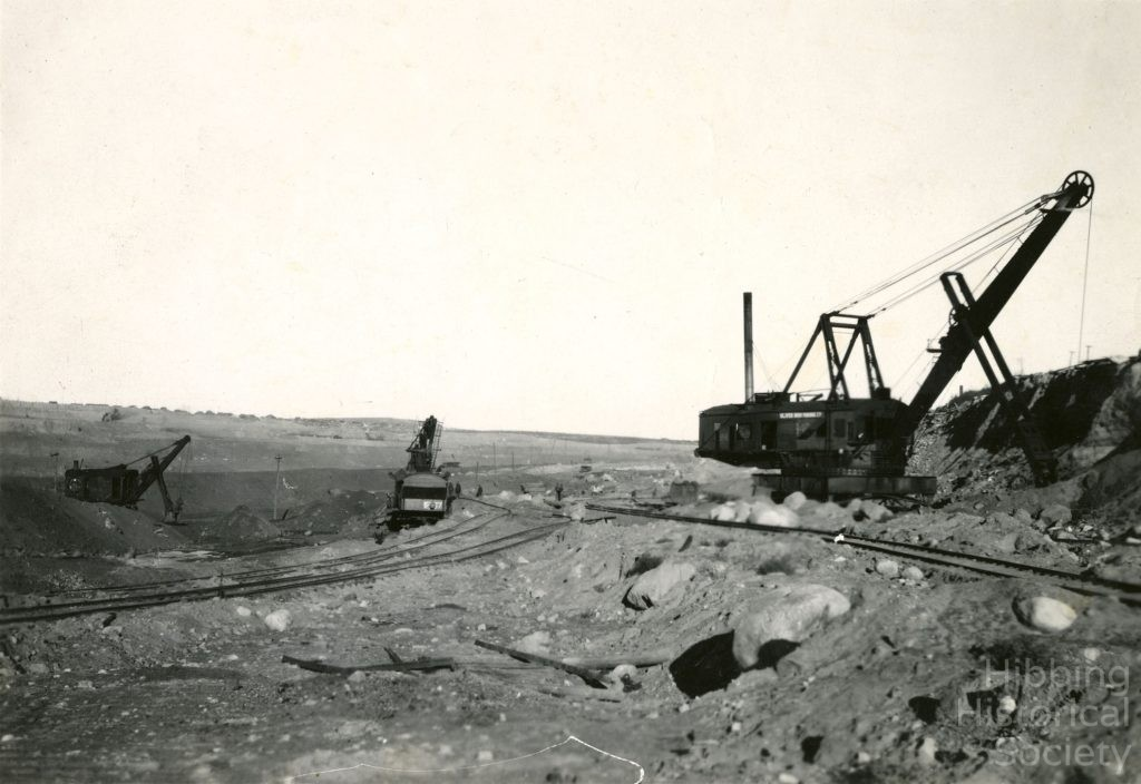 Hull Rust Mining Operations, Poole Location at left horizon