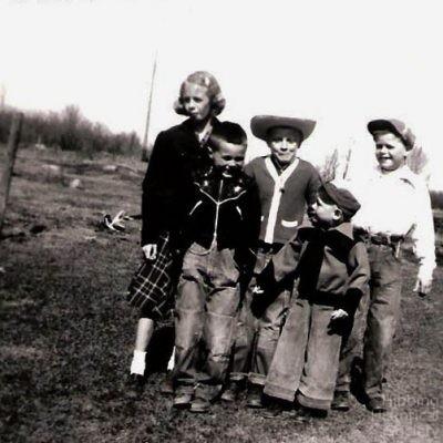 Gordon Conklin children, 1953