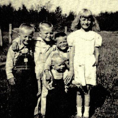 Gordon Conklin children, 1951