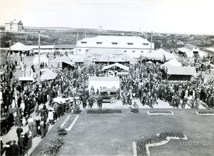 Saint Louis County Fairgrounds with Poole School and Location in background