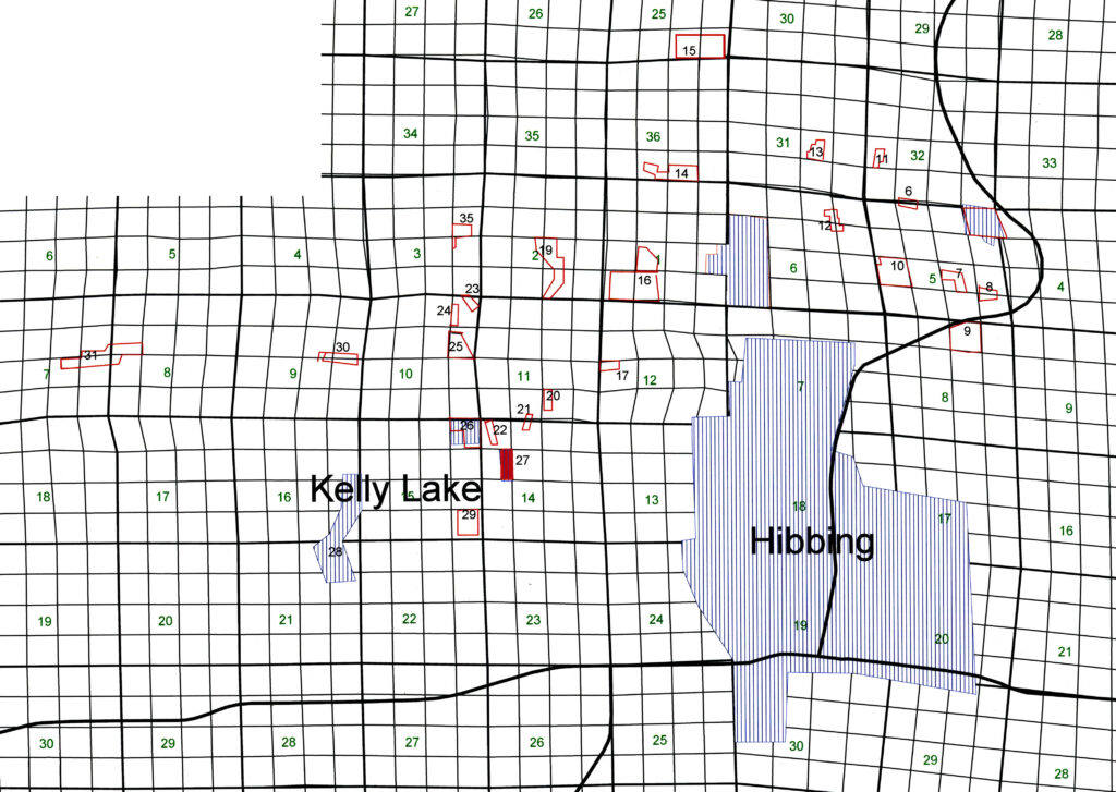 Overview Map showing Kerr Location